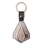 Assassin's Creed Syndicate - Metal Logo Keychain With PU Chain