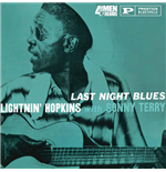 Vynil Lightnin Hopkins With Sonny Terry - Last Night Blues