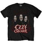 Ozzy Osbourne Men's Tee: Crows & Bars
