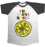 The Stone Roses Men's Raglan Tee: Lemon Multicolour