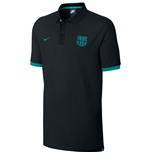 2016-2017 Barcelona Nike Core Polo Shirt (Black-Energy)