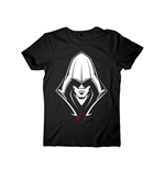 Assassins Creed - T-shirt Men Black Hooded Assassin