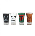 Star Wars Shotglass 4-Pack Characters