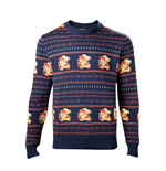 The Legend of Zelda Sweater Link Christmas blue