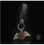 Batman v Superman Metal Keychain Friendship