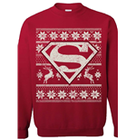 DC Comics Sweater Superman Christmas