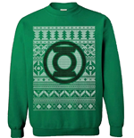 DC Comics Sweater Green Lantern Christmas