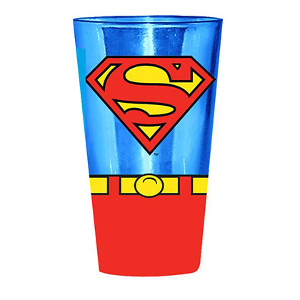 SUPERMAN Uniform Pint Glass