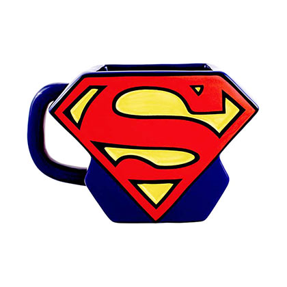 SUPERMAN Logo Shaped Mug