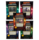 Magic the Gathering Commander (2016) Decks Display (5) spanish
