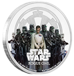 Star Wars Rogue One 1 Oz Silver Coin Empire