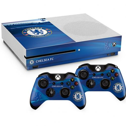 Chelsea F.C. Xbox One S Skin Bundle