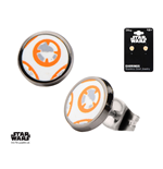 Star Wars Episode VII Earrings BB-8 Lead Hero Droid
