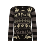 Nightmare Before Christmas Ladies Knitted Sweater XMAS