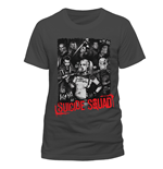 Suicide Squad - Close Up Face - Unisex T-shirt Grey