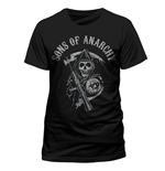 Sons Of Anarchy - Reaper Logo - Unisex T-shirt Black