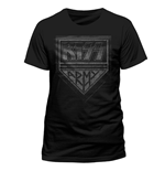 Kiss - Army Distressed - Unisex T-shirt Black