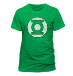 Green Lantern - Distressed Logo - Unisex T-shirt Green