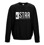 The Flash - Star Labs - Unisex Crewneck Sweatshirt Black