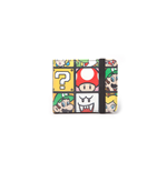 Nintendo - Super Mario Characters Wallet with elastic band