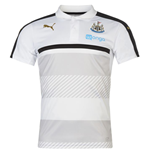 2016-2017 Newcastle Puma Leisure Polo Shirt (White)