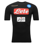 2016-2017 Napoli Kappa Authentic Third Shirt