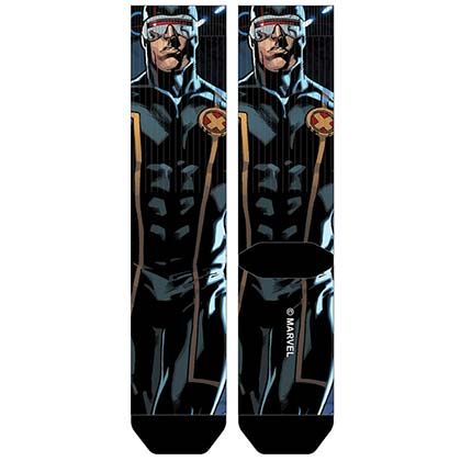 X-MEN Cyclops Sublimated Men's Crew Socks