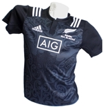 All Blacks Jersey Maori Kid