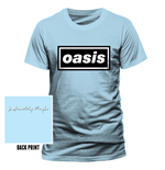 Oasis - Definitely Maybe - Unisex T-shirt Blue