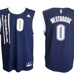RUSSELL WESTBROOKE Oklahoma City Thunder Jersey