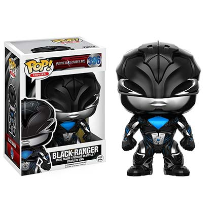 Funko Pop Black Power Ranger Figurine