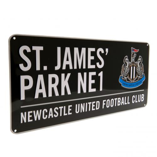 Newcastle United F.C. Street Sign BK