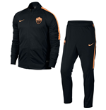 2016-2017 AS Roma Nike Woven Tracksuit (Black) - Kids