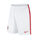 2016-2017 Monaco Nike Home Shorts (White)