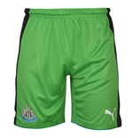 2016-2017 Newcastle Home Goalkeeper Shorts (Green) - Kids