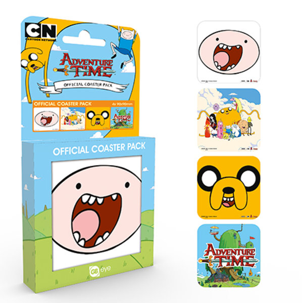 Adventure Time Mix Coaster Box