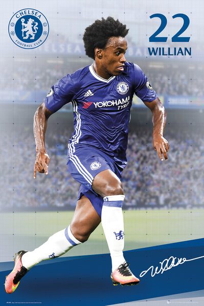 CHELSEA Willian 16/17 Maxi Poster