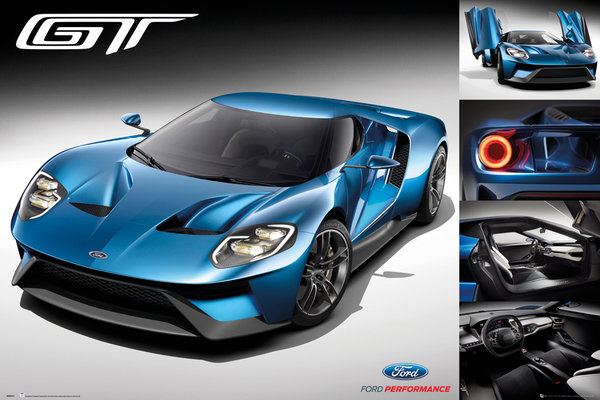 FORD GT 2016 Maxi Poster