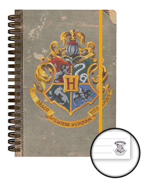 HARRY POTTER Hogwarts A5 Notebook