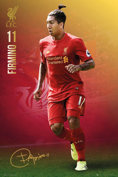 LIVERPOOL Firmimo 16/17 Maxi Poster