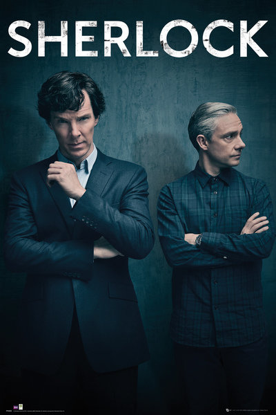 Sherlock Series 4 Iconic Maxi Poster