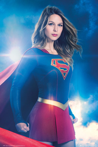 SUPERGIRL Solo Maxi Poster