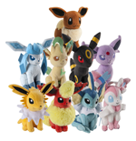 Pokemon Plush Figures 20 cm Assortment Eevee (9)