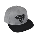DC Comics Premium Cap Black Superman Logo