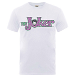 DC Comics T-Shirt Joker Crackle Logo
