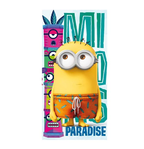 ... Despicable me - Minions Minions Towel Funny Paradise 140 x 70 cm