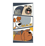 Secret Life of Pets Towel Characters 140 x 70 cm