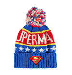 Superman Beanie Knitted Logo