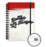 Suicide Squad Notebook A5 Daddy's Little Monster Case (12)