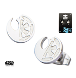 Star Wars Rogue One Earrings Rebel Alliance/Galactic Empire Symbol